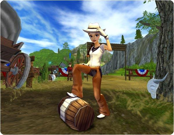 Fajne Cowboy-set!