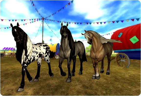 Vackra hästar!