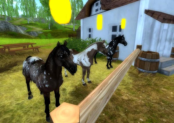 nos plus adorables paint horses ce jour et une surprise c l bre star stable. Black Bedroom Furniture Sets. Home Design Ideas