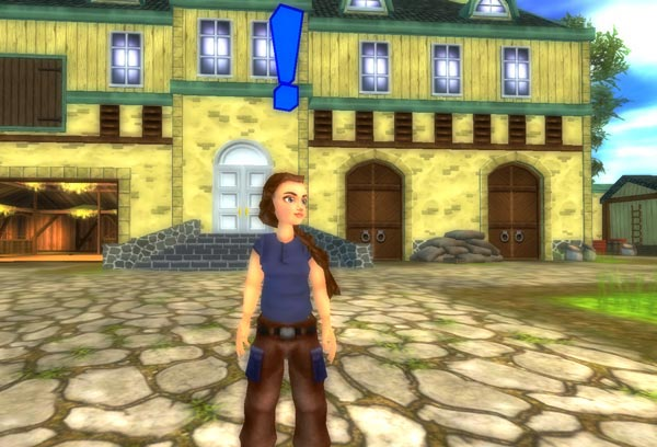 Johanna slänger upp dörrarna vid Jorvik stallen!