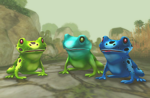 Fabulous frog friends!