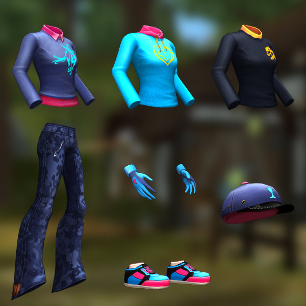 All new clothes for you!