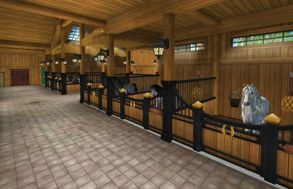 Newly renovated stable, just for you!