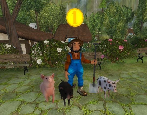 Paddy i jego nowe świnki!
