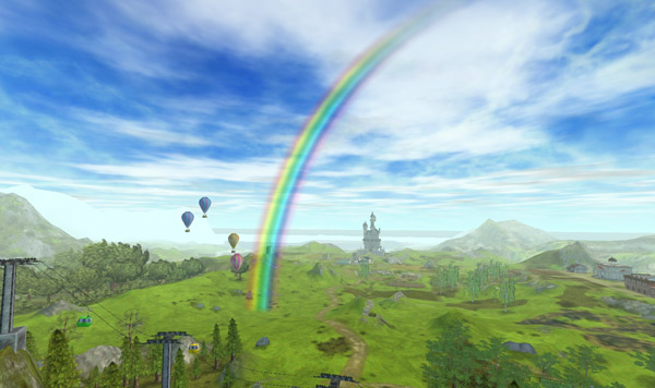 Find the gold by the end of the rainbow!