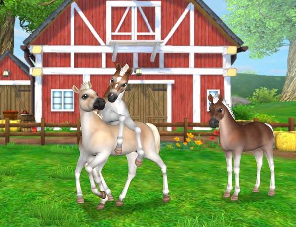 Zagraj w Star Stable Horses, aby wyhodować swojego własnego źrebaka!
