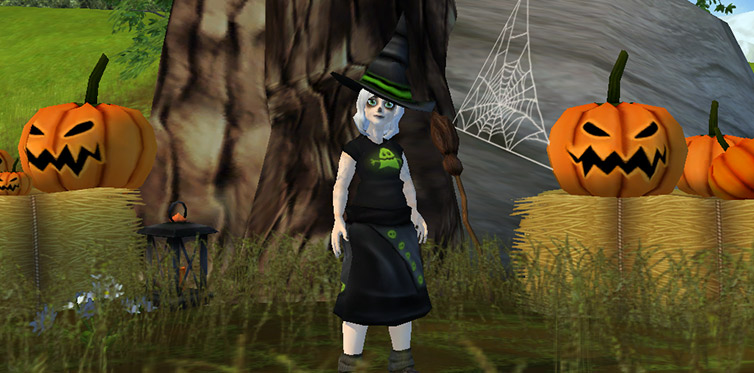 Help Fae and you'll get a new Halloween costume!