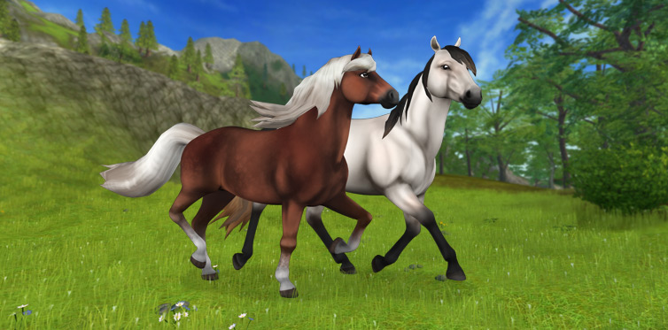 Run like the wind in Wild Horse mode!