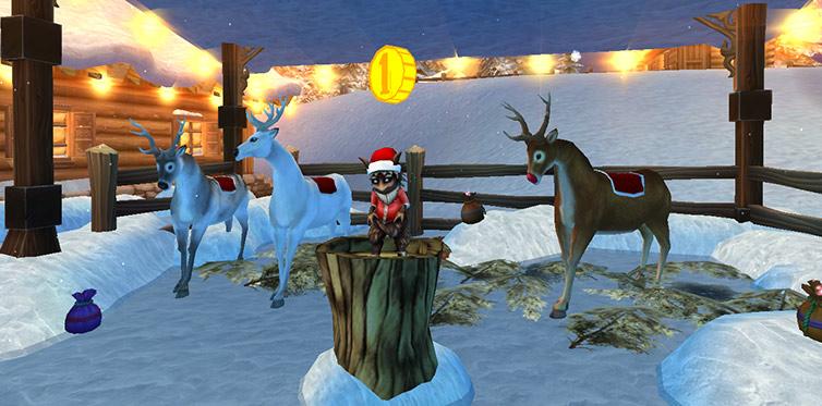 Ultimat julkänsla med fina renar!