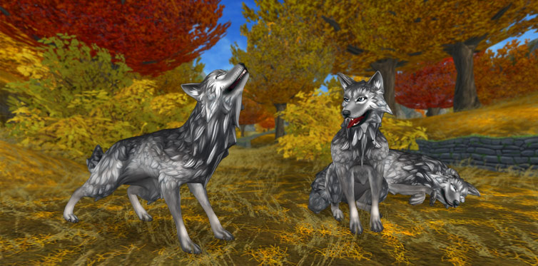 The wolves of Jorvik are more handsome than ever!