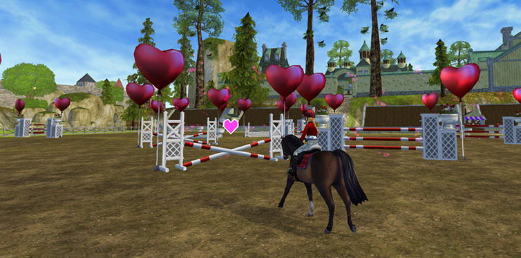 Try out the great new Valentine's race!