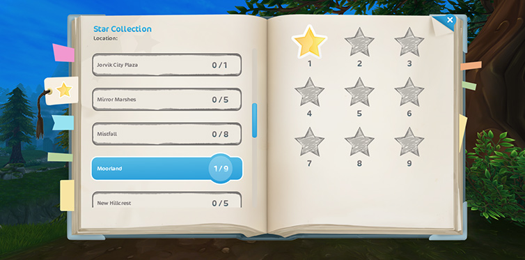 Keeping track of Jorvik's hidden stars has never been easier!
