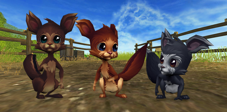 The coolest squirrels on Jorvik!