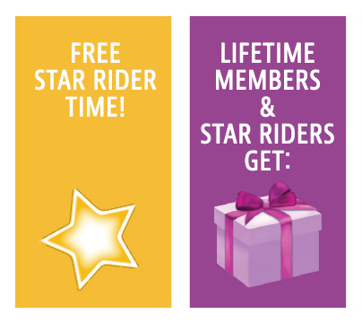 Free Star Rider and Free Item!